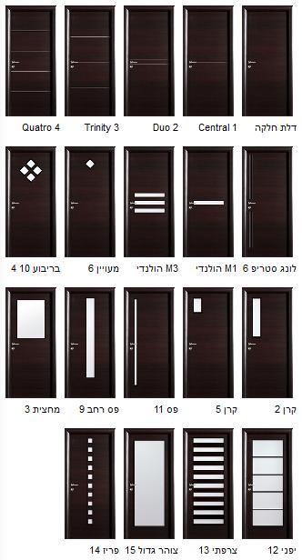 מבחר דלתות מעוצבות