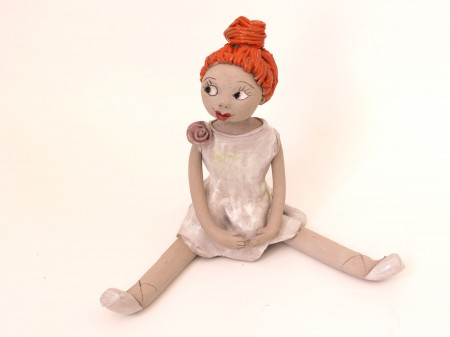 פסל של ילדה