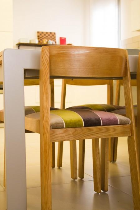 כסא אוכל משופץ