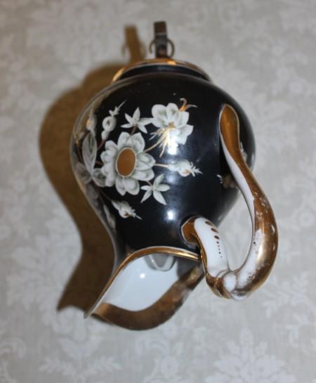 מנורת לילה מכוס פורצלן עתיקה