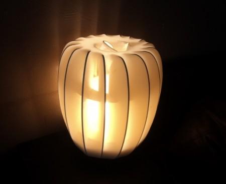 מנורת קרטון