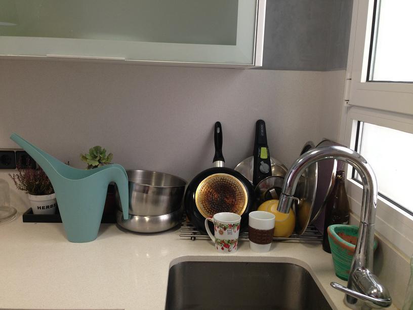 כיור המטבח